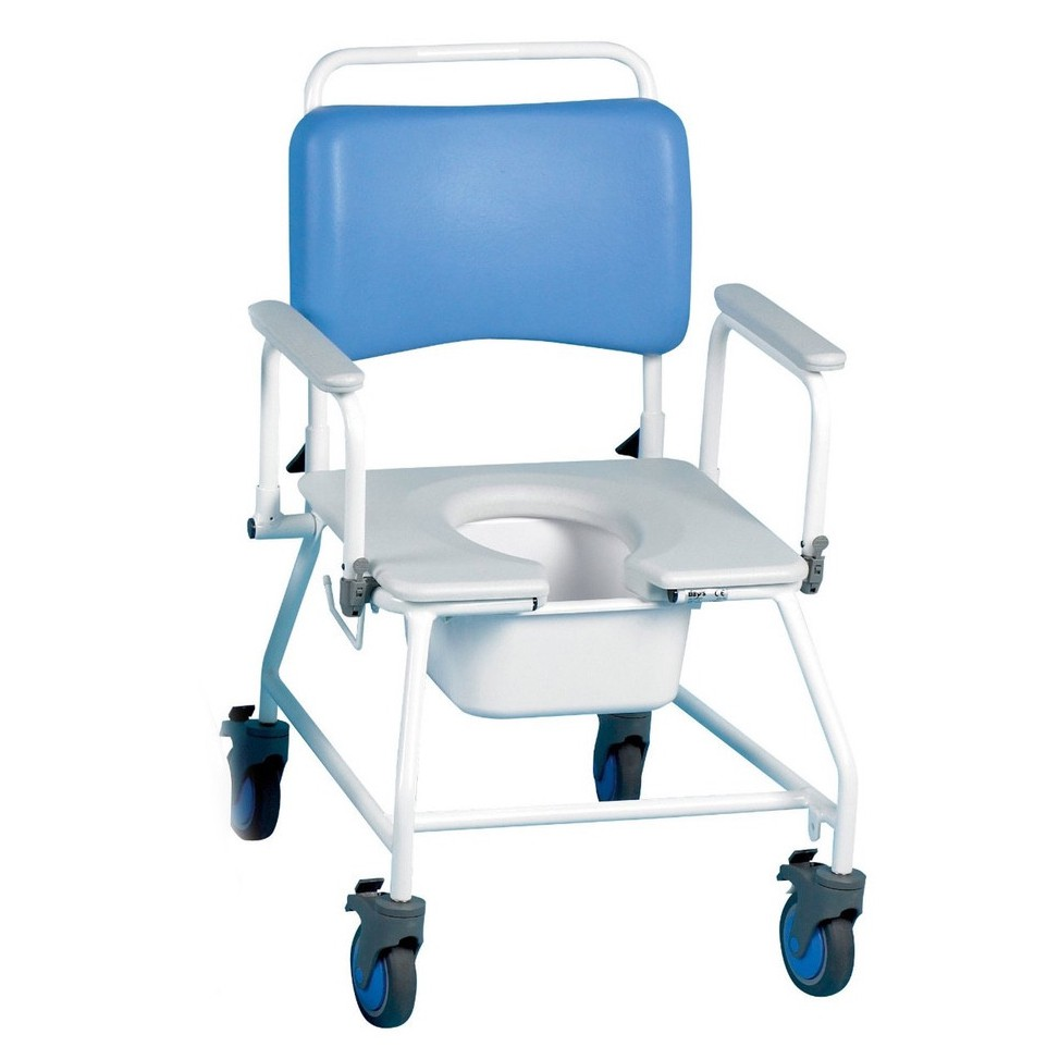 Atlantic Bariatric Commode Shower Chair at low prices! UK Wheelchairs
