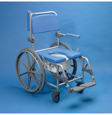 Self Propelled Shower Chair Commode