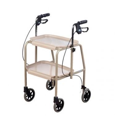 Trolley Walker With Brakes