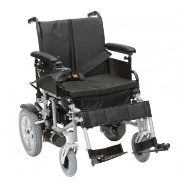 Front view of the Cirrus powerchair