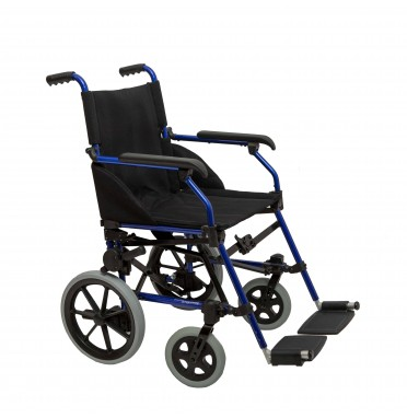 Dash Stowaway Transit Wheelchair shown from the side angle