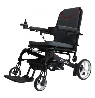 Dashi Powerchair viewed from the side