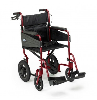 Days Escape wheelchair ruby red