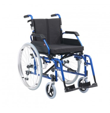 Drive Medical XS Aluminium Wheelchair in blue