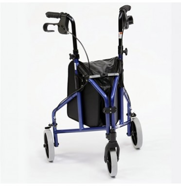 Super lightweight 3 wheeled walker