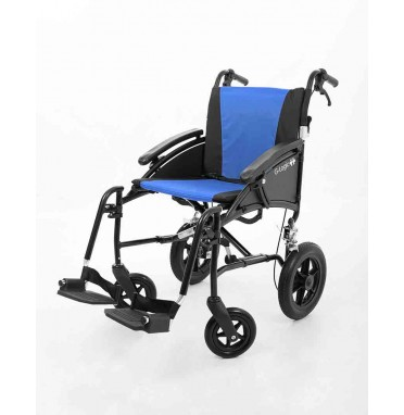 Excel G-Logic lightweight transit wheelchair