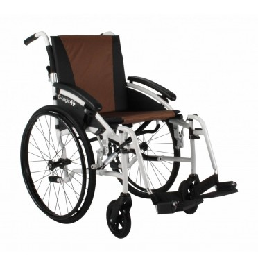 Excel G-Logic lightweight folding wheelchair