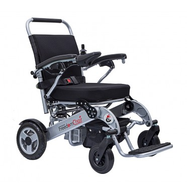 Freedom Chair A08 electric wheelchair side view