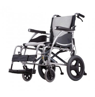 Karma Ergo 115 Transit Wheelchair viewed from the side