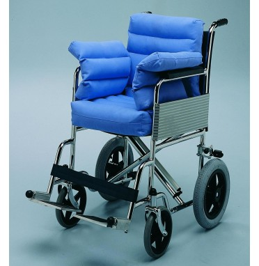 Polycore Wheelchair Seat Pad with Sides and Back
