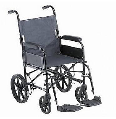 Remploy 9TRLJ Childrens Transit Wheelchair viwed side on