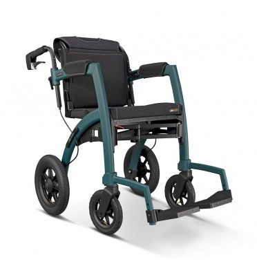 Rollz Motion Performance Rollator & Wheelchair viewed from the side