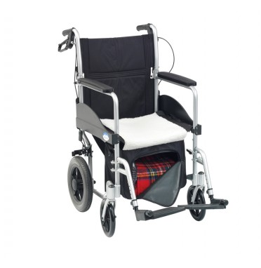 Large under wheelchair seat bag