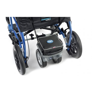 TGA Heavy Duty Power Pack Shown Fitted To Wheelchair