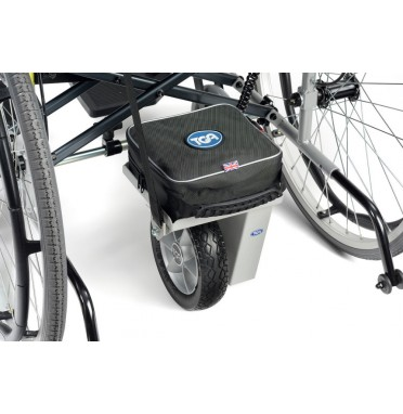 TGA Wheelchair Power Pack Fitted to Wheelchair