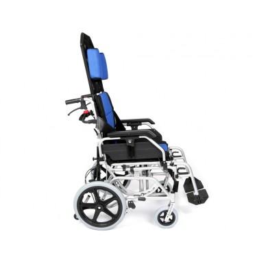 Reclining Tilt In Space Transit Wheelchair