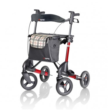 TOPRO Troja 2G Premium Rollator in wine red