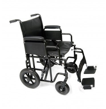 Ugo Atlas heavy duty steel transit wheelchair
