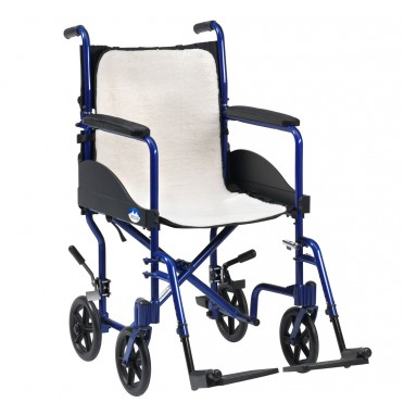 Wheelchair overlay fleece