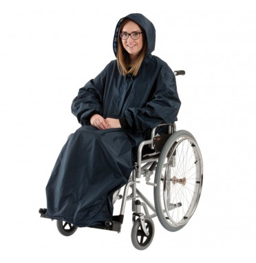 Wind proof Wheelchair Mac With Sleeves