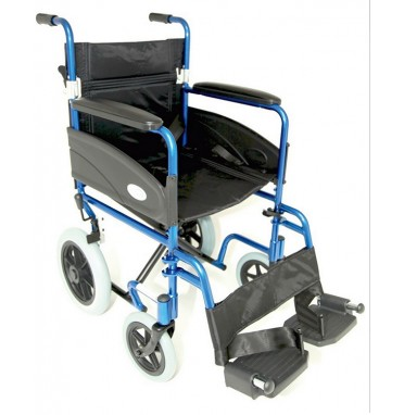 ZTec  Folding AluminiumTransit Wheelchair
