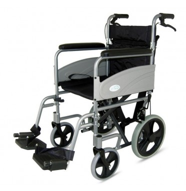 Z-Tec Economy Folding Transit Wheelchair