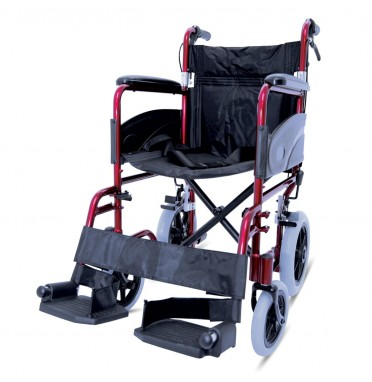 ZT 600-601 H/B Folding AluminiumTransit Wheelchair