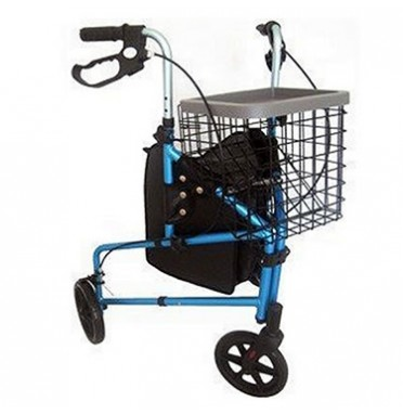 Z-TEC Ultra Lightweight AluminiumTri Walker