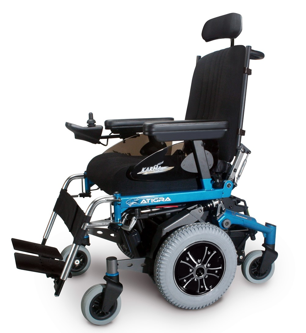 atigra mid wheeled powerchair electric wheelchair delivered free next day   uk wheelchairs