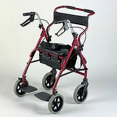 Rollator And Transit Chair Combination From Patterson