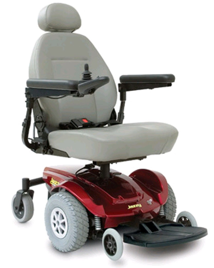 Jazzy select electric wheelchair delvered next day for for Handicap wheelchair