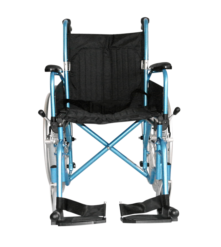 Lightweight Folding Self Propelled Wheelchair With Brakes