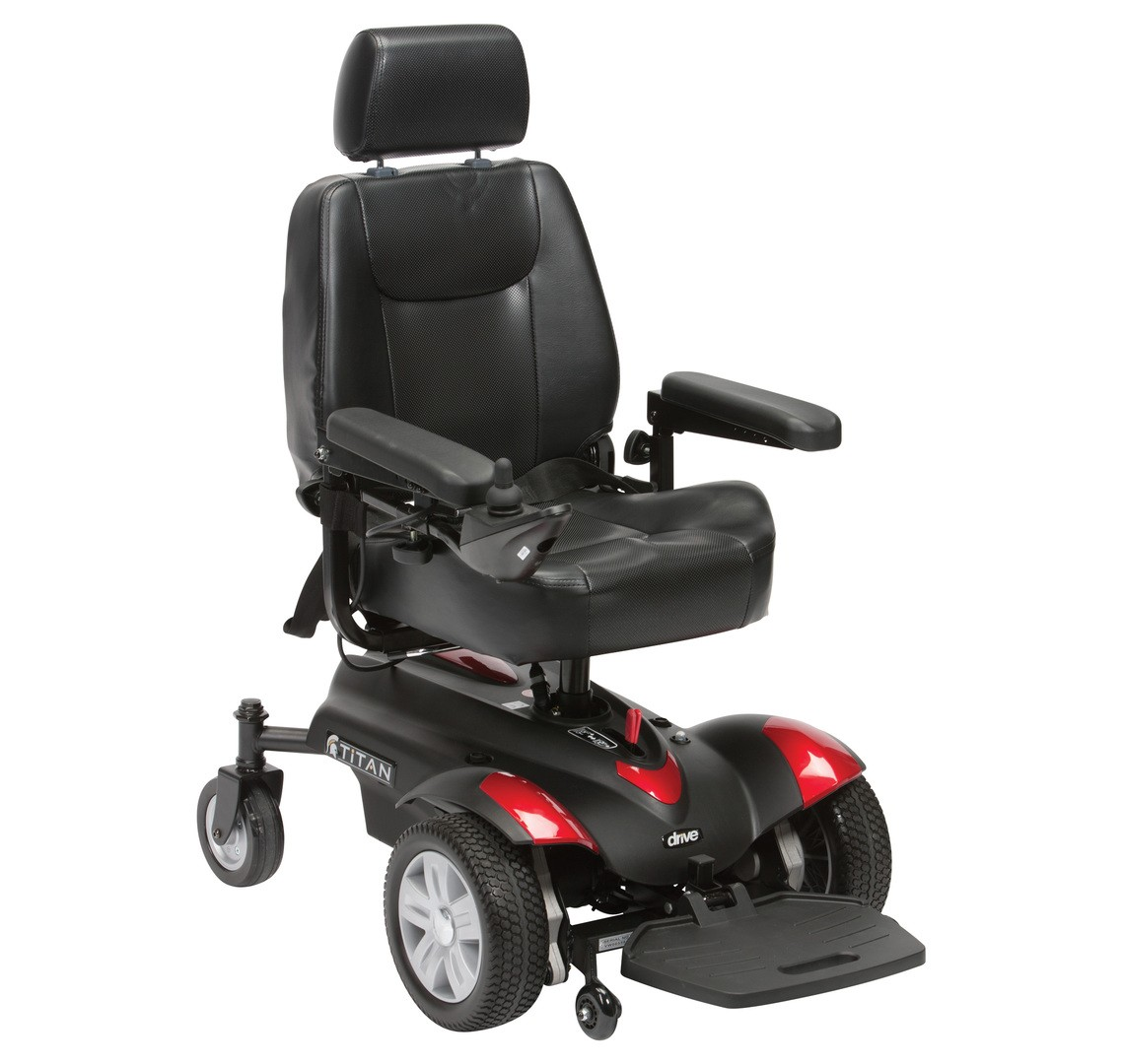 Titan powerchair electric wheelchair at low prices UK ...