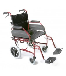 Esteem Alloy Transit Wheelchair with Attendant Brakes