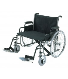 Roma Medical 1473X Heavy Duty Self-Propelled Wheelchair