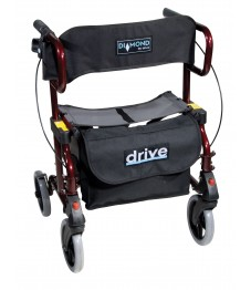 Diamond Deluxe Rollator & Transport Chair 2 in 1
