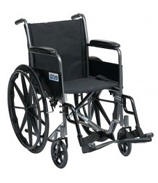 Enigma Silver Sport Self-Propelled Wheelchair
