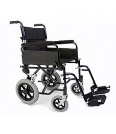 Esteem Folding Steel Transit Wheelchair