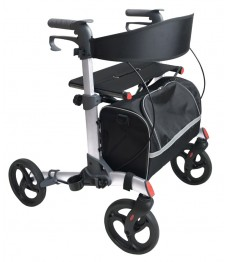 UK Walker 2 Lightweight Double Folding Rollator