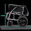 Karma Ergo 125 TALL Transit Wheelchair shown folded