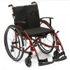 Drive Medical Enigma Spirit Self Propelled Wheelchairin red