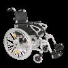 Side view of the Esteem Eclipse lightweight wheelchair