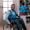 Wheelchair harness support