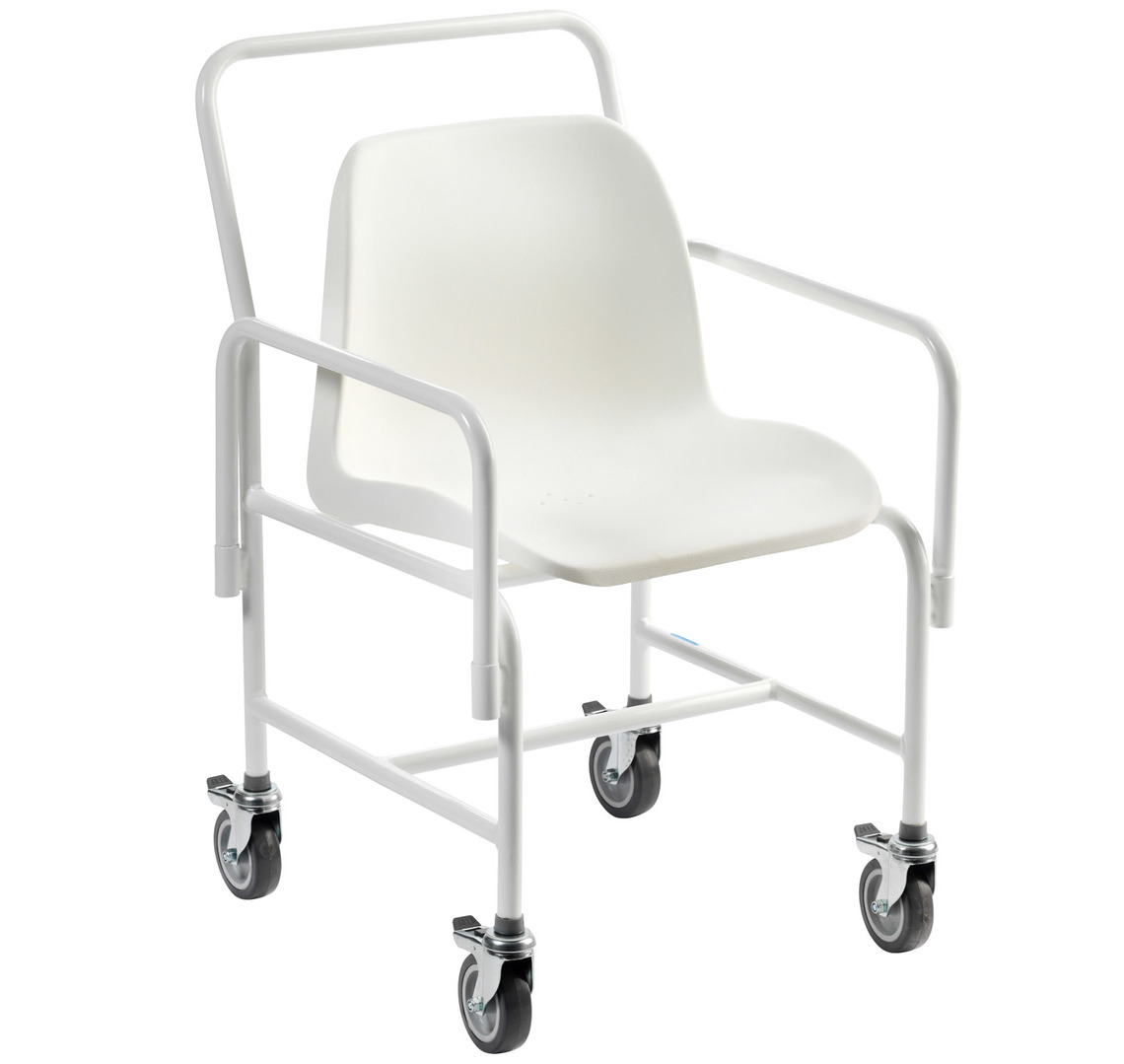Hallaton Mobile Shower Chair at Low Prices ! UK Wheelchairs