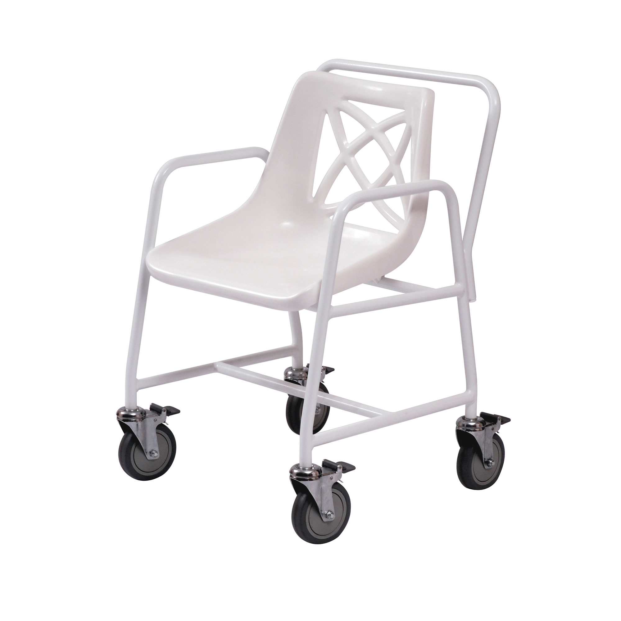 Roma Medical Wheeled Mobile Shower Chair at low prices UK