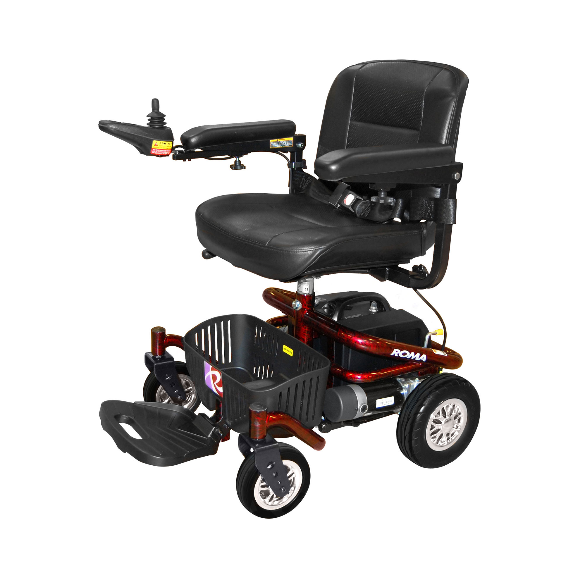 how to use an electronic wheelchair