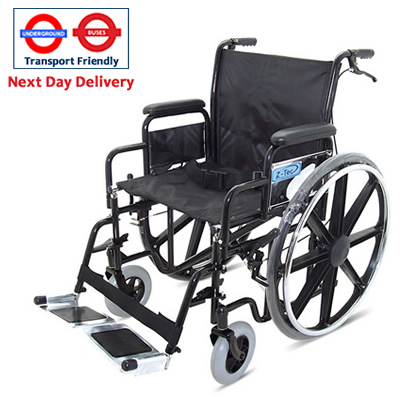Ztec 600-692HD heavy Duty Wheelchair for Hire