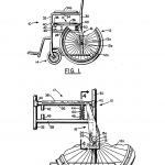 An intelligent wheelchair wheel lock